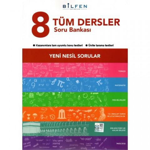 Bilfen Yayınları LGS 8. Sınıf Tüm Dersler Soru Bankası