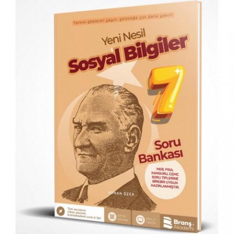 Branş Akademi 7. Sınıf Sosyal Bilgiler Soru Bankası 2019