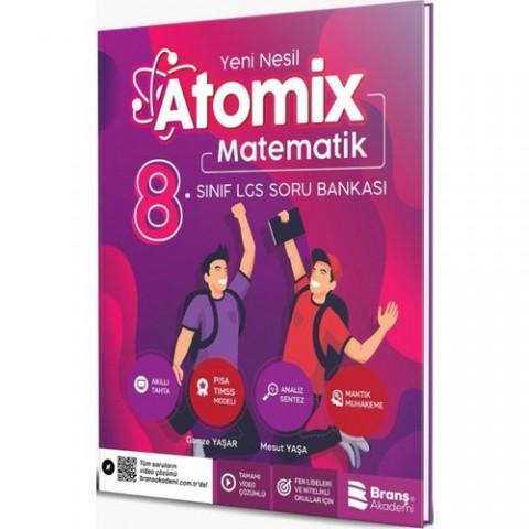 Branş Akademi 8.Sınıf Lgs Atomix Matematik 6 Deneme 2019
