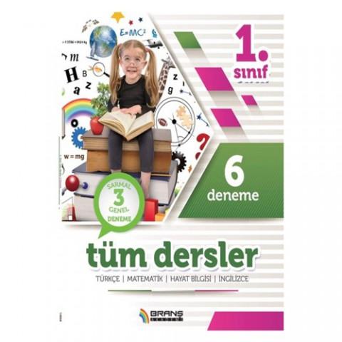 Branş Akademi Yayınları 1. Sınıf Tüm Dersler 6 Deneme