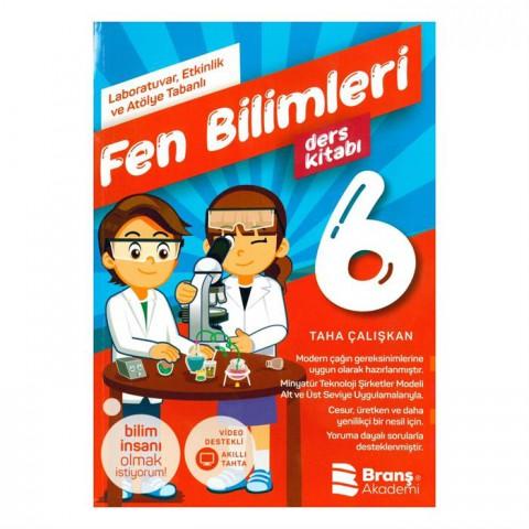 Branş Akademi Yayınları 6. Sınıf Fen Bilimleri Deney Ders Kitabı