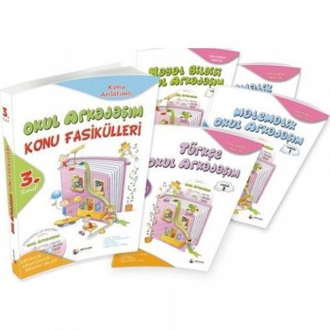 Dörtrenk Yayınları 4.sınıf Okul Arkadaşım Konu Fasikülleri