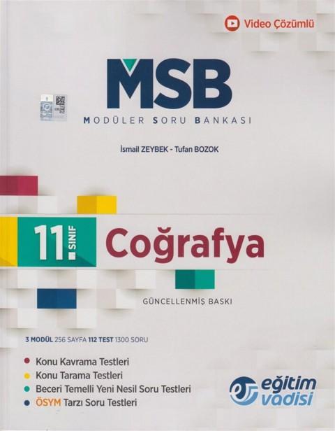 Eğitim Vadisi 11.Sınıf Coğrafya Modüler Soru Bankası