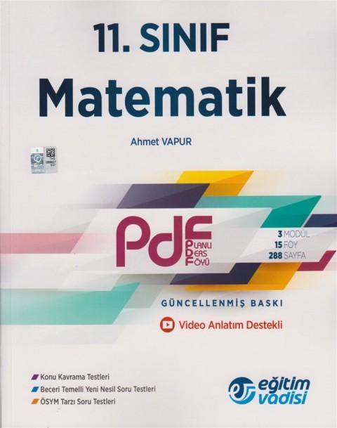 Eğitim Vadisi 11.Sınıf PDF Matematik Video Anlatım Destekli
