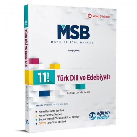 Eğitim Vadisi 11.Sınıf Türk Dili Ve Edebiyatı Modüler Soru Bankası