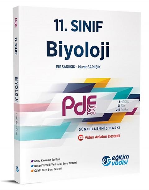 Eğitim Vadisi Yayınları 11. Sınıf Biyoloji Pdf Planlı Ders Föyü