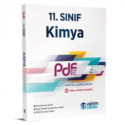 Eğitim Vadisi Yayınları 11. Sınıf Kimya Pdf Planlı Ders Föyü