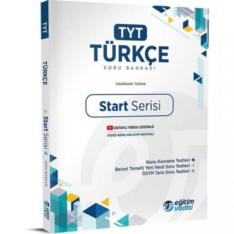 Eğitim Vadisi Yayınları TYT Türkçe Start Serisi Soru Bankası Yeni 2022