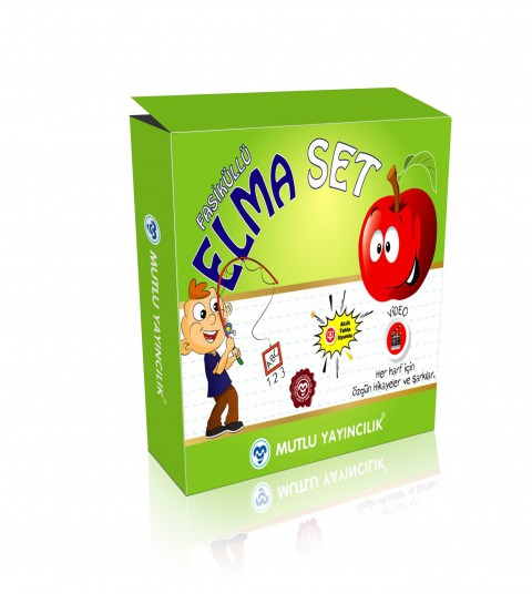 Elma Set İlkokuma Yazma Seti 1.Sınıf ( Yeni Ürün)