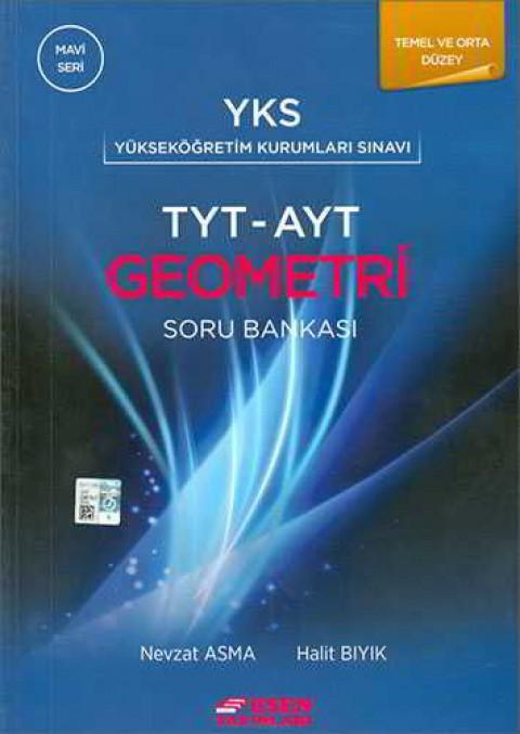Esen Yayınları TYT AYT Geometri Soru Bankası Mavi Seri