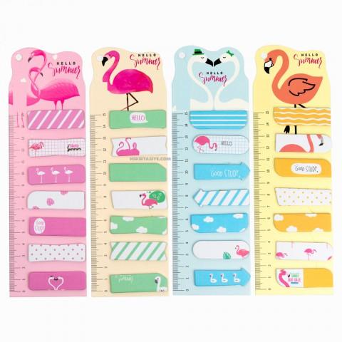 Flamingo Yapışkanlı Not Kağıtları