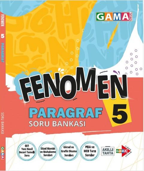 Gama Yayınları 5. Sınıf Fenomen Paragraf Soru Bankası