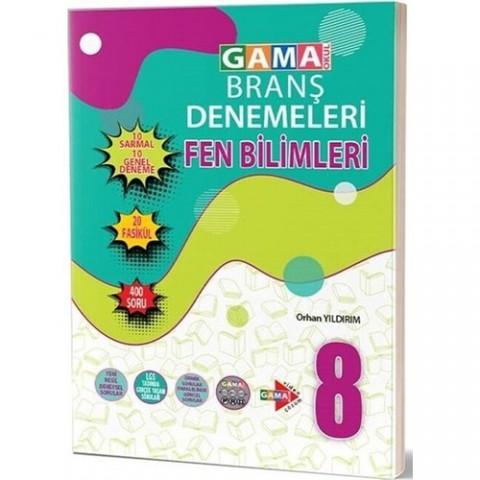Gama Yayınları 8. Sınıf Fen Bilimleri 20 Deneme