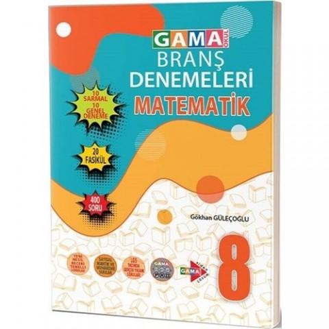 Gama Yayınları 8. Sınıf Matematik 20 Deneme