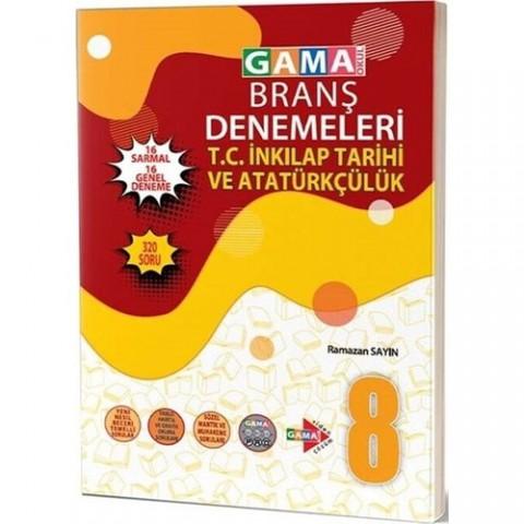 Gama Yayınları 8. Sınıf T.C. İnkılap Tarihi ve Atatürkçülük 32 Deneme