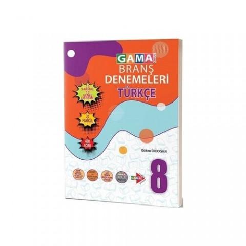 Gama Yayınları Branş Denemeleri Türkçe 8. Sınıf
