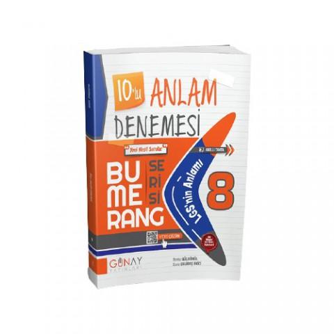 Gün&ay Yayınları Bumerang 10'lu Anlam Denemesi
