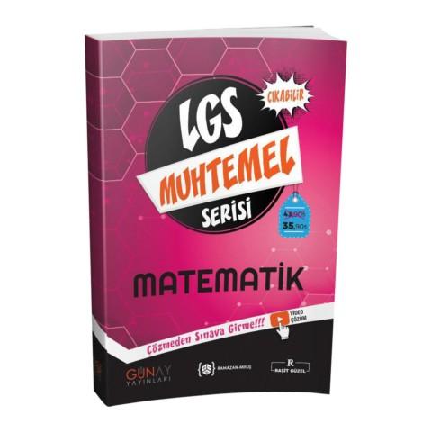 Günay Yayınları Muhtemel Serisi LGS Matematik Soru Bankası