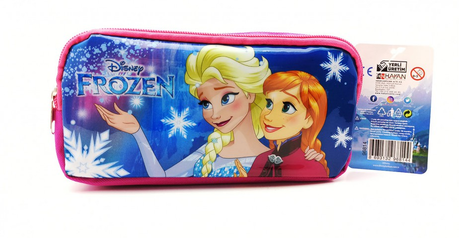 Hakan Çanta Frozen Kalem Çantası 2 Gözlü