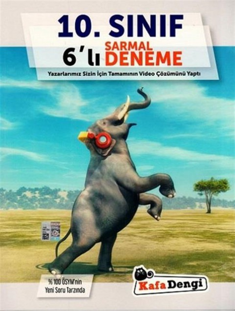 Kafa Dengi Yayınları 10.Sınıf 6lı Sarmal Deneme