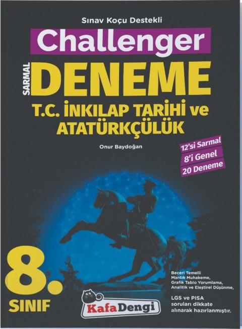 Kafa Dengi Yayınları 8. Sınıf Challenger Inkılap Tarihi ve Atatürkçülük 20'li Deneme