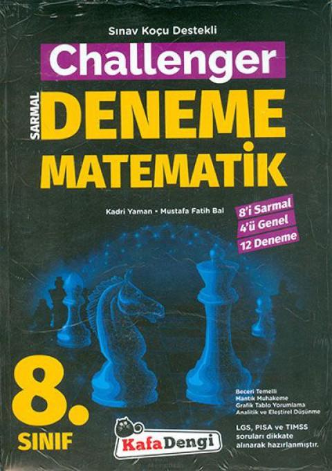 Kafa Dengi Yayınları 8. Sınıf Challenger Matematik 12'li Deneme