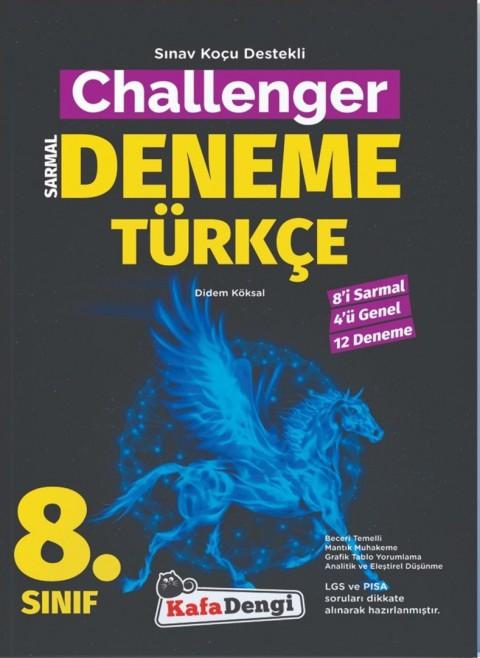 Kafa Dengi Yayınları 8. Sınıf Challenger Türkçe 12'li Deneme