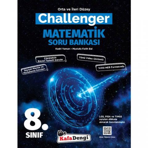 Kafa Dengi Yayınları 8. Sınıf LGS Matematik Challenger Soru Bankası