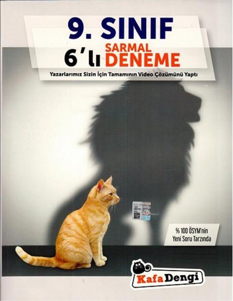 Kafa Dengi Yayınları 9.Sınıf 6lı Sarmal Deneme