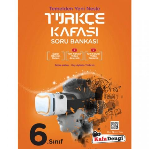 Kafadengi 6.Sınıf Türkçe Kafası Soru Bankası (Tümü Video Çözümlü)