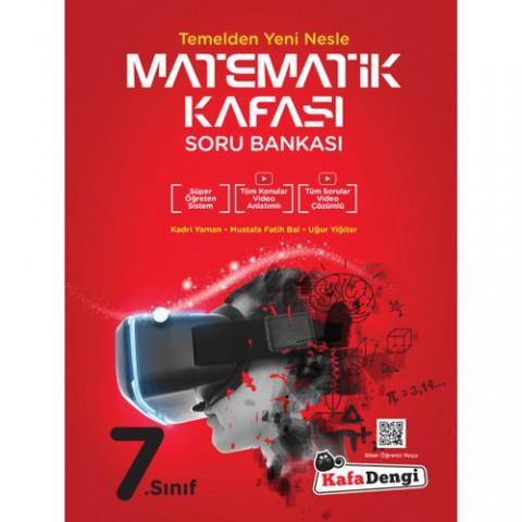 Kafadengi 7.Sınıf Matematik Kafası Soru Bankası (Tümü Video Çözümlü)