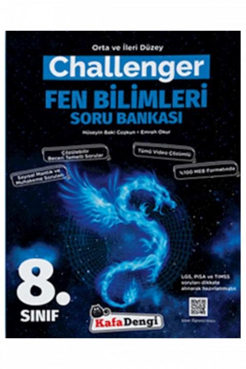 Kafadengi Yayınları 8. Sınıf Challenger Fen Bilimleri Soru Bankası