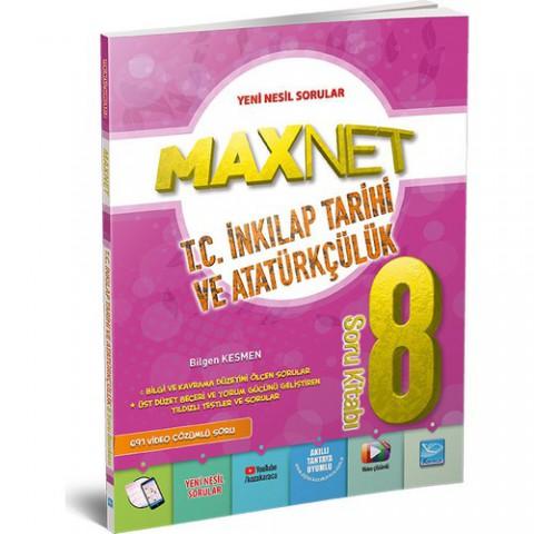 Karaca Yayınevi Maxnet 8. Sınıf T.C. İnkilap Tarihi ve Atatürkçülük Soru Kitabı