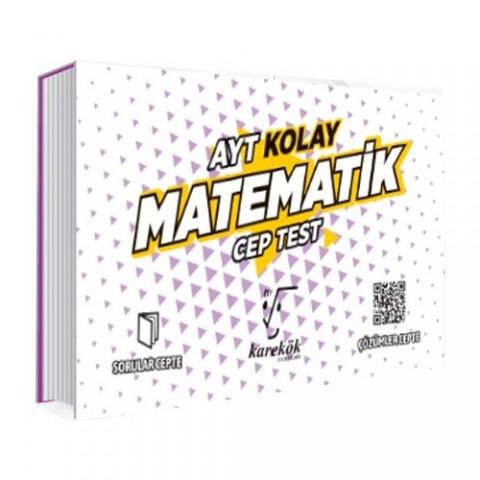 Karekök Yayınları AYT Cep Test Matematik Kolay