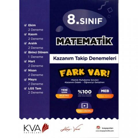 Kva Yayınları 8. Sınıf Matematik Kazanım Takip Denemeleri