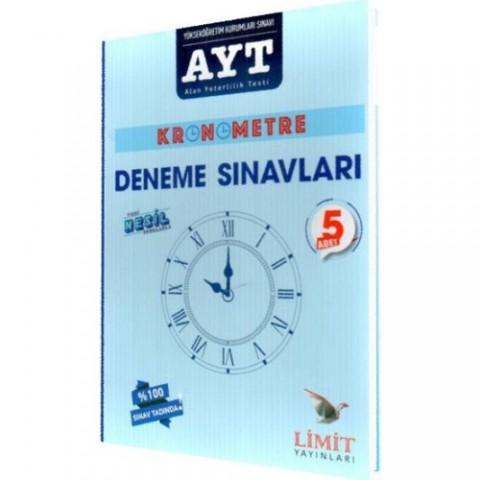 Limit Yayınları Kronometre Ayt Deneme Sınavları
