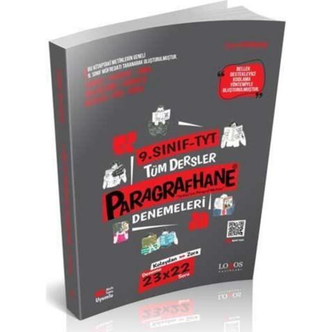 Lodos Yayınları 9. Sınıf TYT Tüm Dersler Paragrafhane Paragraf Denemeleri 2021
