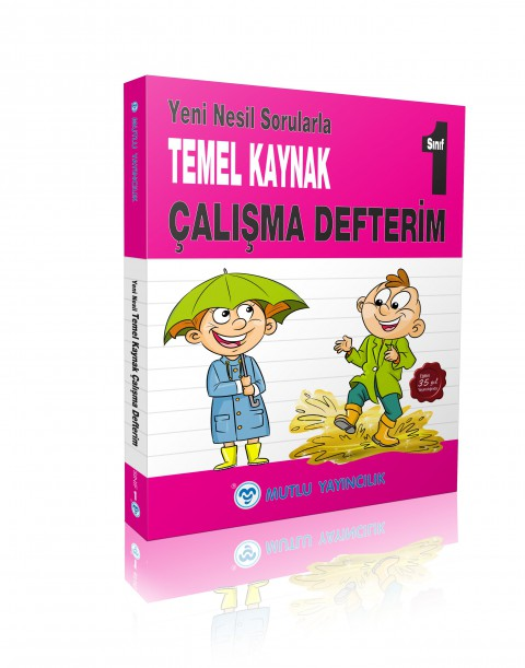 Mutlu Yayınevi 1. Sınıf Temel Kaynak Çalışma Defterim