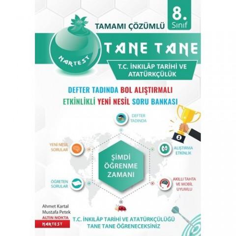 Nar Test Yayınları Tane Tane İnkılap Tarihi ve Atatürkçülük Soru Bankası