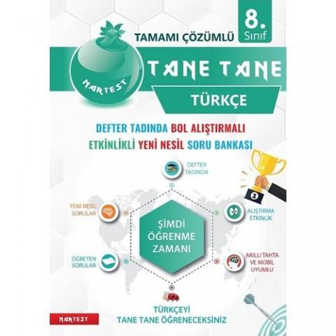 Nartest Yayınevi 8. Sınıf Defter Tadında Tane Tane Türkçe