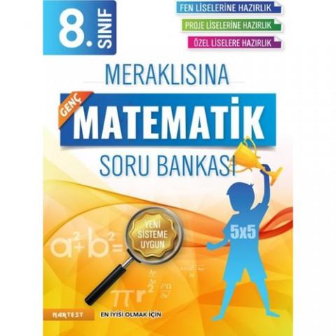 Nartest Yayınevi 8. Sınıf Meraklısına Genç Matematik Soru Bankası Fen Liselerine Hazırlık
