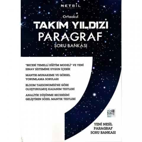 Netbil Yayınları Ortaokul Takım Yıldızı Paragraf Soru Bankası