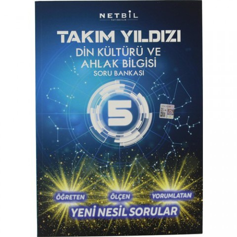 Netbil Yayınları Takım Yıldızı 5. Sınıf Din Kültürü ve Ahlak Bilgisi Soru Bankası