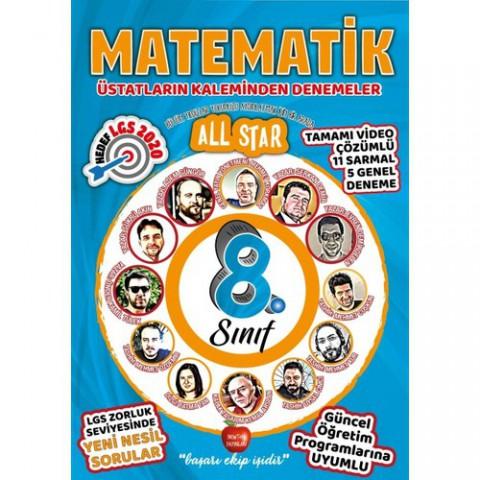 Newton Yayınları 8.Sınıf Üstatların Kaleminden All Star Matematik Denemeler