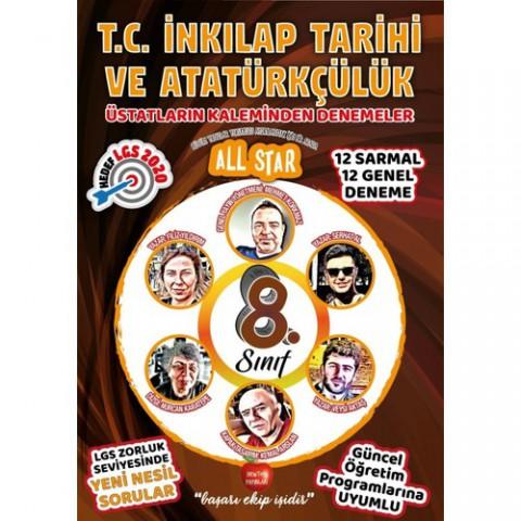 Newton Yayınları 8.Sınıf Üstatların Kaleminden All Star TC İnkılap Tarihi ve Atatürkçülük Denemeler