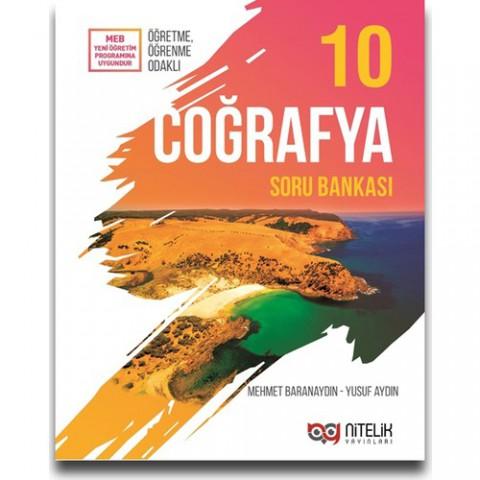 Nitelik Yayınları 10. Sınıf Coğrafya Soru Bankası - Mehmet Baranaydın