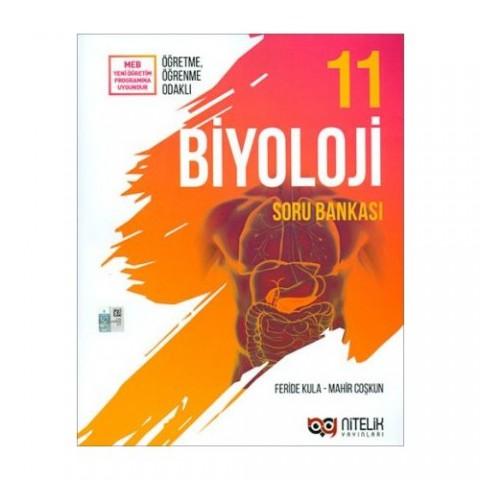 Nitelik Yayınları 11. Sınıf Biyoloji Soru Bankası - Feride Kula