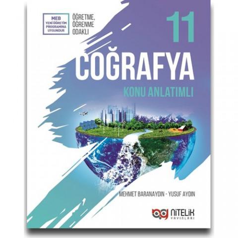 Nitelik Yayınları 11. Sınıf Coğrafya Konu Anlatımı - Mehmet Baranaydın