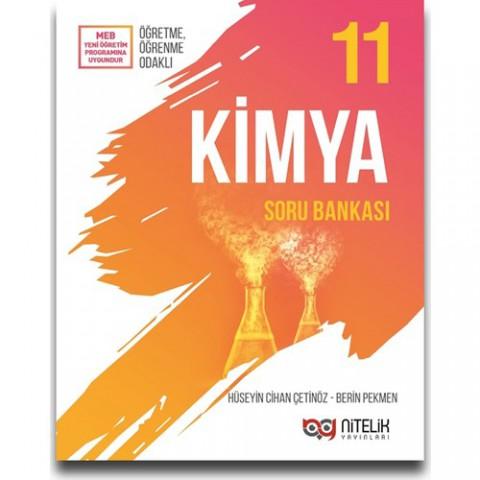 Nitelik Yayınları 11. Sınıf Kimya Soru Bankası - Hüseyin Cihan Çetinöz