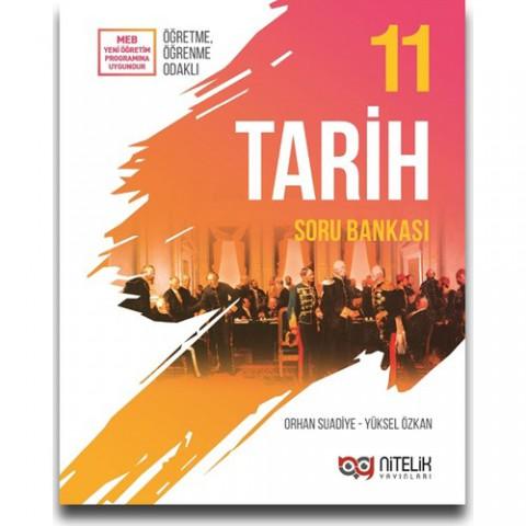 Nitelik Yayınları 11. Sınıf Tarih Soru Bankası - Orhan Suadiye